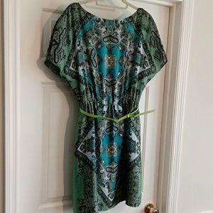 Tahari Sz 10 Paisley dress